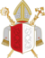 Coat of arms of the diocese of Augsburg