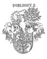 Wappen der Reichritter von Doblhoff 1706.png