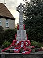 War Memorial, Main Street, Edwinstowe, Notts (3).jpg