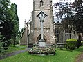 War memorial in St. Mary's churchyard, Newent - geograph.org.uk - 526468.jpg