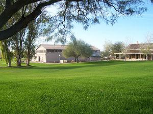 Yuma Quartermaster Depot State Historic Park - The warehouse at Yuma Quartermasters Depot State Historic Park