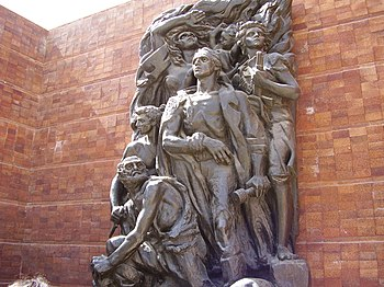 Warsaw Ghetto Uprising Monument1