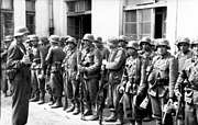 Warsaw Uprising Aserbeidschanische Feld-Bataillon 111