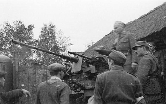 Warsaw Uprising by Gąszewski - Kotowski in Kampinos