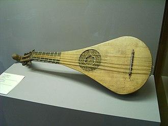Classical guitar - Gittern (1450)