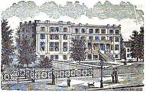 Washington Female Seminary - Image: Washington Female Seminary line drawing