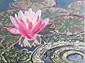 Water Lily, painting by Lizza Littlewort.jpg
