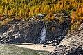 Waterfall on indus river on gilgit-skardu road.jpg