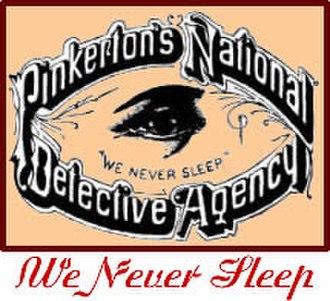 Pinkerton (detective agency) - Original company logo