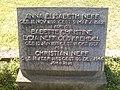 Weierhof Friedhof Grabmal Neff 01.JPG