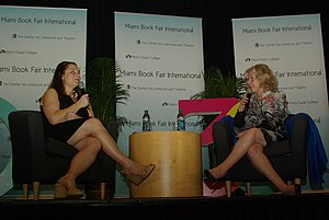 Jennifer Weiner - Jennifer Weiner and Erica Jong at the Miami Book Fair International 2013
