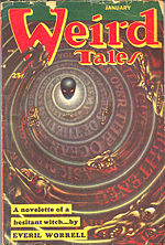 Weird Tales cover image for January 1953