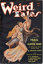 Weird Tales cover image for July 1934