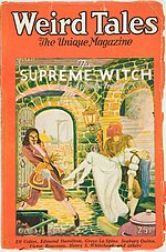 Weird Tales cover image for October 1926