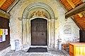 Weitensfeld Zweinitz Pfarrkirche hl. Egydius W-Portal mit Tympanons 25102012 4186.jpg