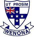 Wenona School crest. Source: www.wenona.nsw.edu.au (Wenona website)