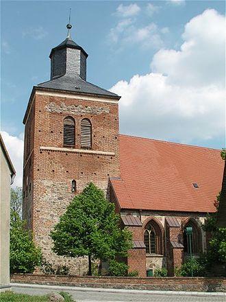 Wesenberg, Mecklenburg-Vorpommern - Image: Wesenberg Kirche