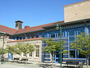 West Seattle High School - New Courtyard Entry