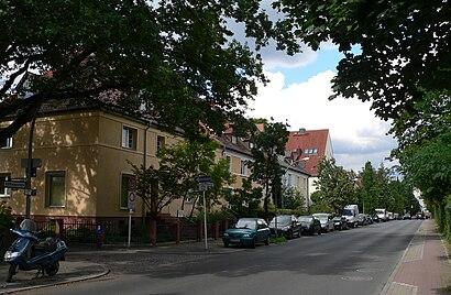 Eichkamp nerede, toplu taşıma ile nasıl gidilir - Yer hakkında bilgi
