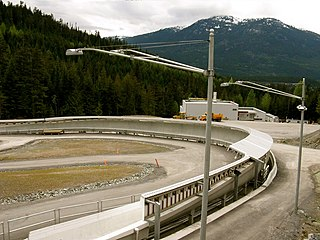Whistler Sliding Centre bobsleigh, luge, and skeleton track located in Whistler, British Columbia, Canada
