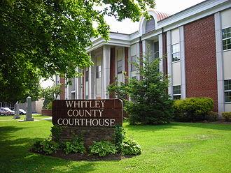 Whitley County, Kentucky - Image: Whitley County, Kentucky Courthouse
