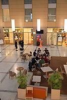 Wikimedia Hackathon Vienna 2017-05-20 Atrium 05.jpg