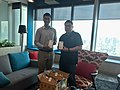 Wikimedians in Thailand and DTAC partnership.jpg