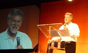 Warren Farrell - Farrell addressing world conference of spiritual leaders, 2010
