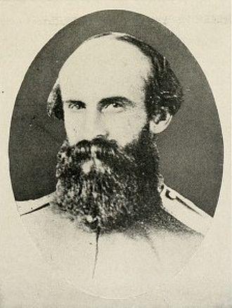 William E. Jones - Confederate Cavalry General William E. Jones photographed while still a colonel with the 7th Virginia Cavalry in 1862.