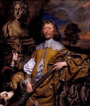 William Dobson - Endymion Porter between circa 1642 and circa 1645