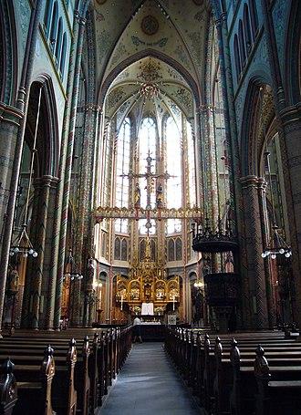 Friedrich Wilhelm Mengelberg - St. Willibrord Church interior, Utrecht