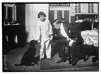 William Collier Jr. - William Collier circa 1913 with his adoptive father