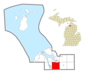 Wilson Township (Charlevoix County), MI location.png