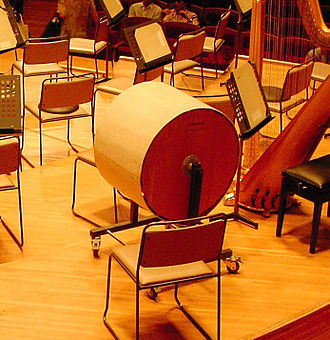An Alpine Symphony - A modern wind machine, an instrument that is used to create storm effects