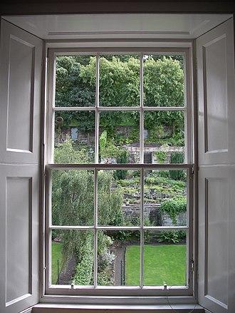 Royal Terrace, Edinburgh - Garden behind 11 Royal Terrace