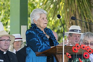 Welcome to Country and Acknowledgement of Country - Wiradjuri Elder, Aunty Isobel Reid, giving the Welcome to Country.