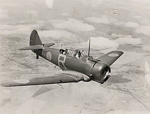No. 21 Squadron RAAF - A No. 21 Squadron Wirraway in 1940