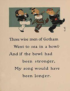 Wise Men of Gotham folk song