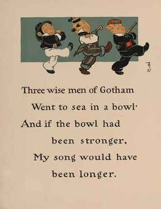Wise Men of Gotham - Image: Wise Men of Gotham 1 WW Denslow Project Gutenberg etext 18546