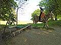 Witch sculpture, Vale park fairy village.jpg