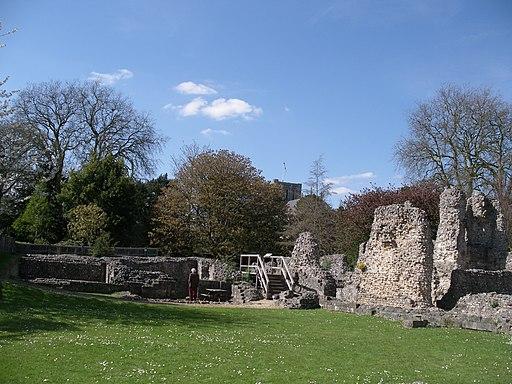 Wolvesey Palace - geograph.org.uk - 1776869