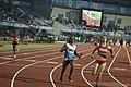 Women 4x100m Relay Dutee Chand In Action 2017.jpg