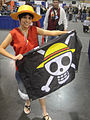 WonderCon 2012 - Monkey D Luffy from One Piece (7019311929).jpg