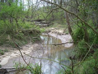 Casey Creek (Illinois) - Headwaters of Casey Fork Creek in Southern Illinois