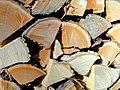 Woodpile textures - Vermont - DSC03219.JPG