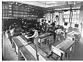 Woodwork class at the Trades School showing students(GN13205).jpg
