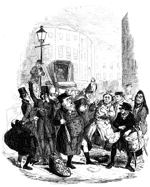 Works of Charles Dickens (1897) Vol 1 - Illustration 2