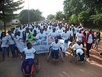 World Toilet Organization - The Urgent Run in Senegal organized to celebrate WTD 2014