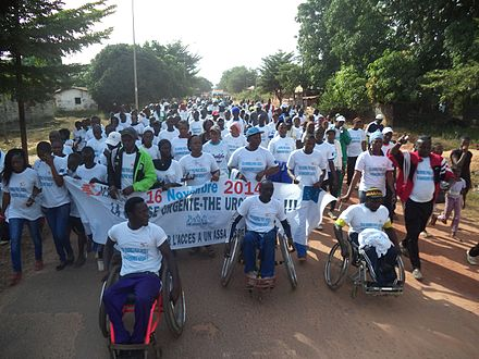 The Urgent Run in Senegal organized to celebrate WTD 2014 World Toilet Day celebrations in Senegal 2014.jpg