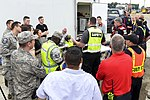 Wright-Patterson Air Force Base safety briefing during August 4 2017 training exercise.jpg